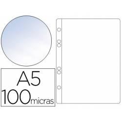 Micas A5 cristal com 6 furos