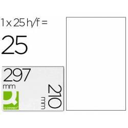 Etiquetas adesivas transparentes A4