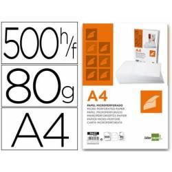 Papel A4 microperfurado em...