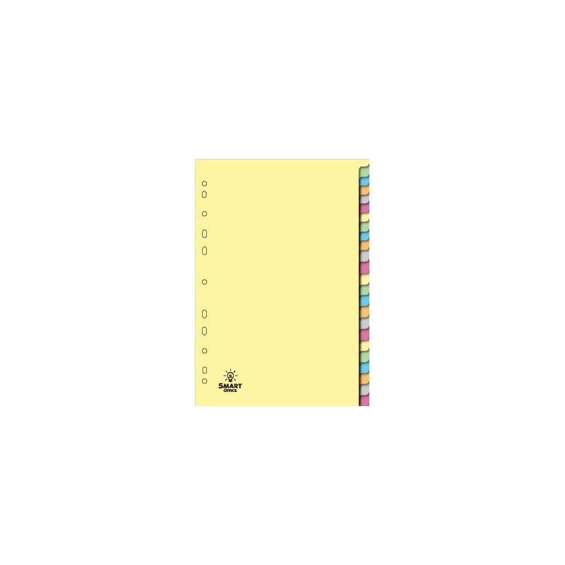 Separadores de cartolina com 24 posições