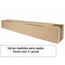 Caixas para embalagem de tubos