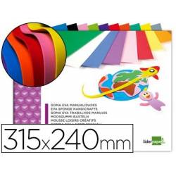 Placas de goma eva coloridas sortidas