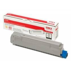 Toner OKI 43487712 preto para C8600 e C8800