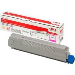 Toner OKI 43487710 magenta para C8600 e C8800