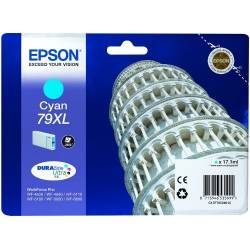 Tinteiro Epson 79XL azul de...