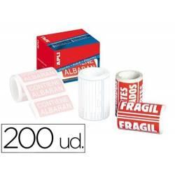 Etiquetas adesivas Frágil