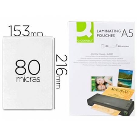 Bolsas de plastificar A5 (153X216 mm) 80 microns