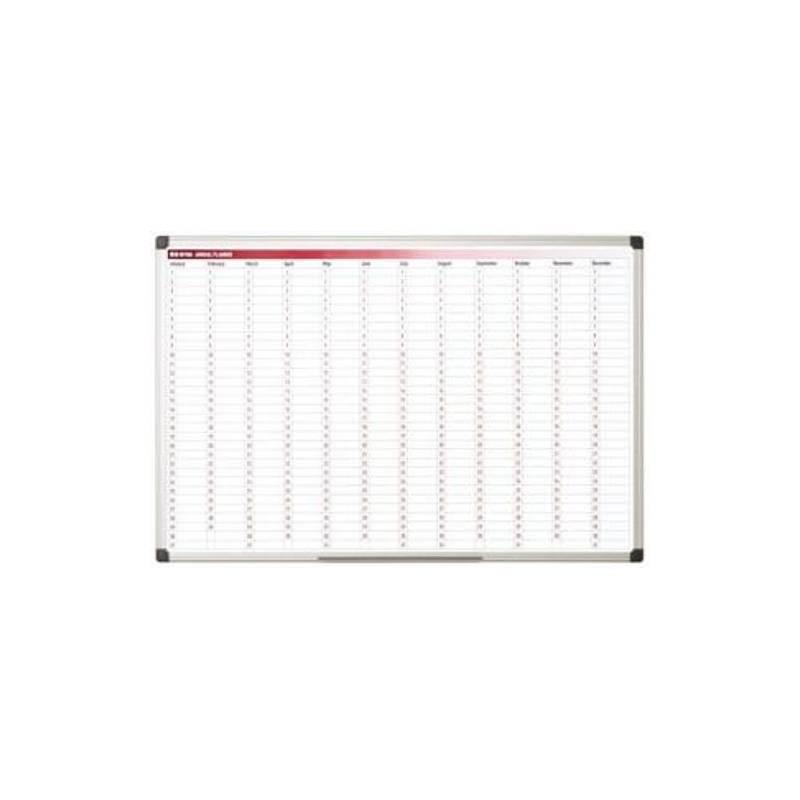 Planning anual magnético 90x60cm