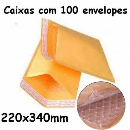 Envelopes almofadados baratos 220x340mm Nº 6