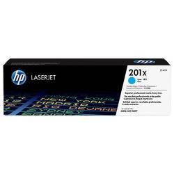Toner HP 201X azul de alta capacidade