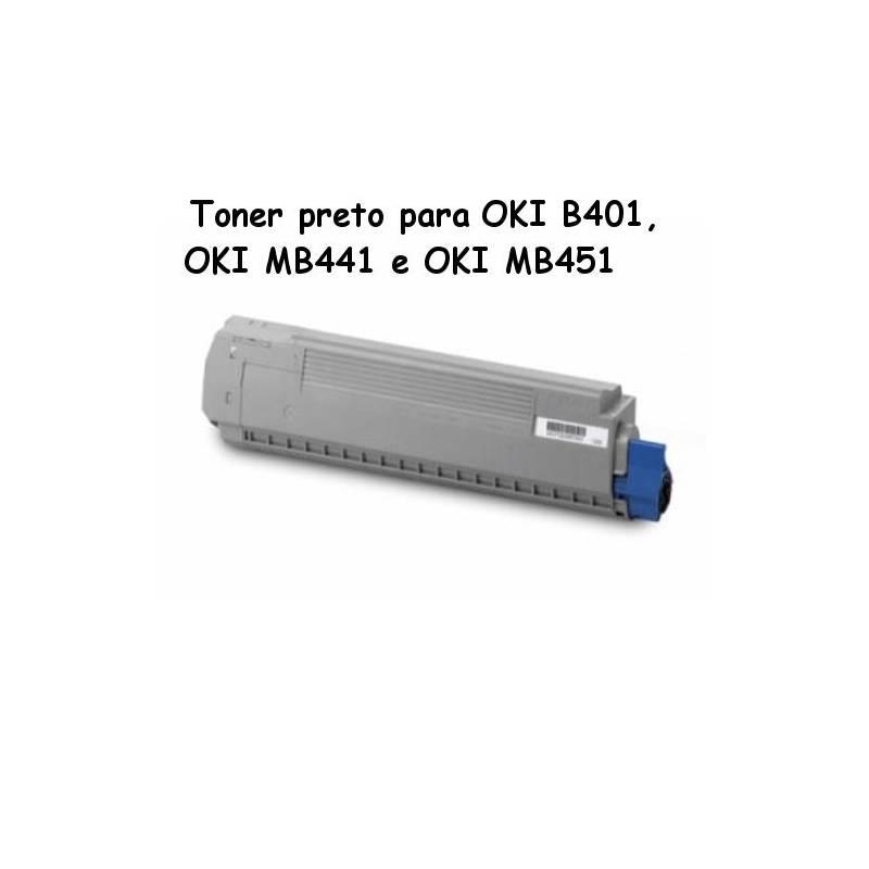 Toner OKI 44992401 para B401, MB441 e MB451