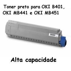 Toner OKI 44992402 para B401, MB441 e MB451