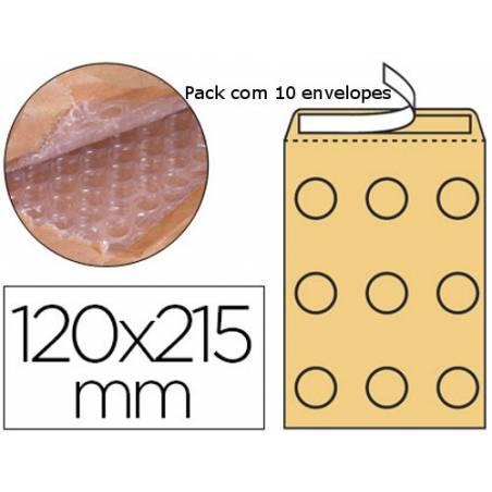 Envelopes almofadados 120x210mm