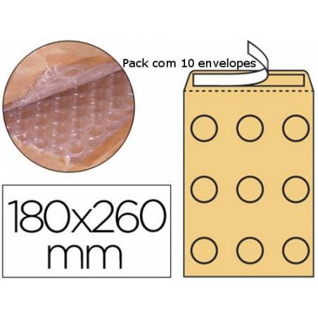 Envelopes almofadados 180x265mm