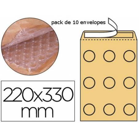 Envelopes almofadados 220x330mm