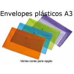 Envelopes plásticos A3