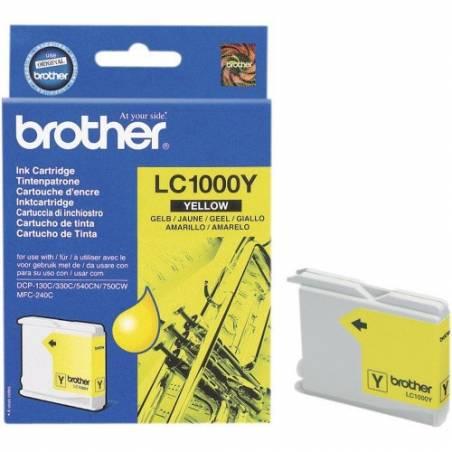 Tinteiro Brother LC1000Y Amarelo