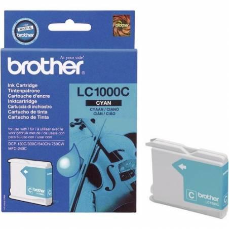 Tinteiro Brother LC1000C Azul