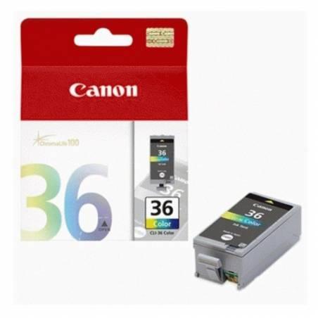 Tinteiro Canon CLI36 Cor