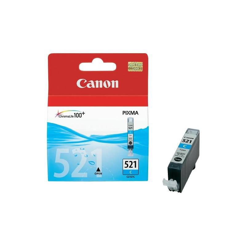 Tinteiro Canon CLI521C Azul