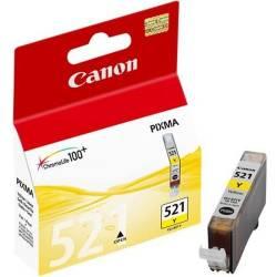 Tinteiro Canon CLI521Y Amarelo