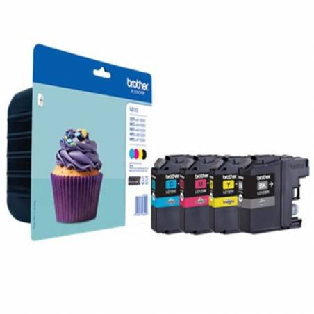 Brother LC123VAL pack de 4 cores