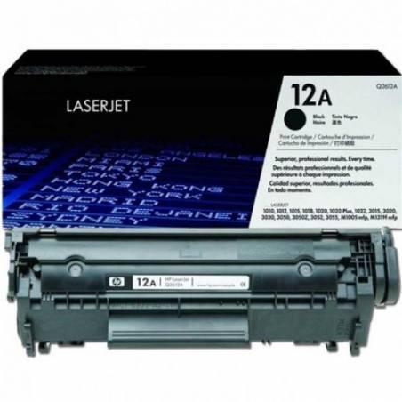 Toner HP 12A Preto (Q2612A)