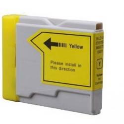Tinteiro compativel com Brother LC-1000Y amarelo