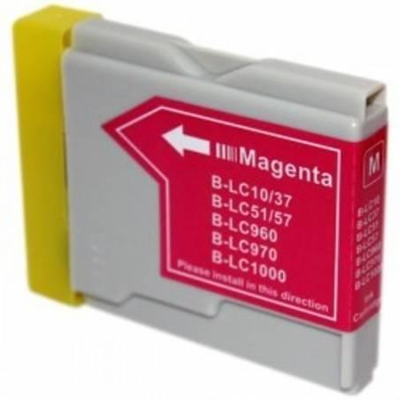Tinteiro compativel com Brother LC-1000M magenta