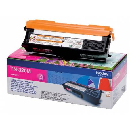 Toner Brother TN320M Magenta