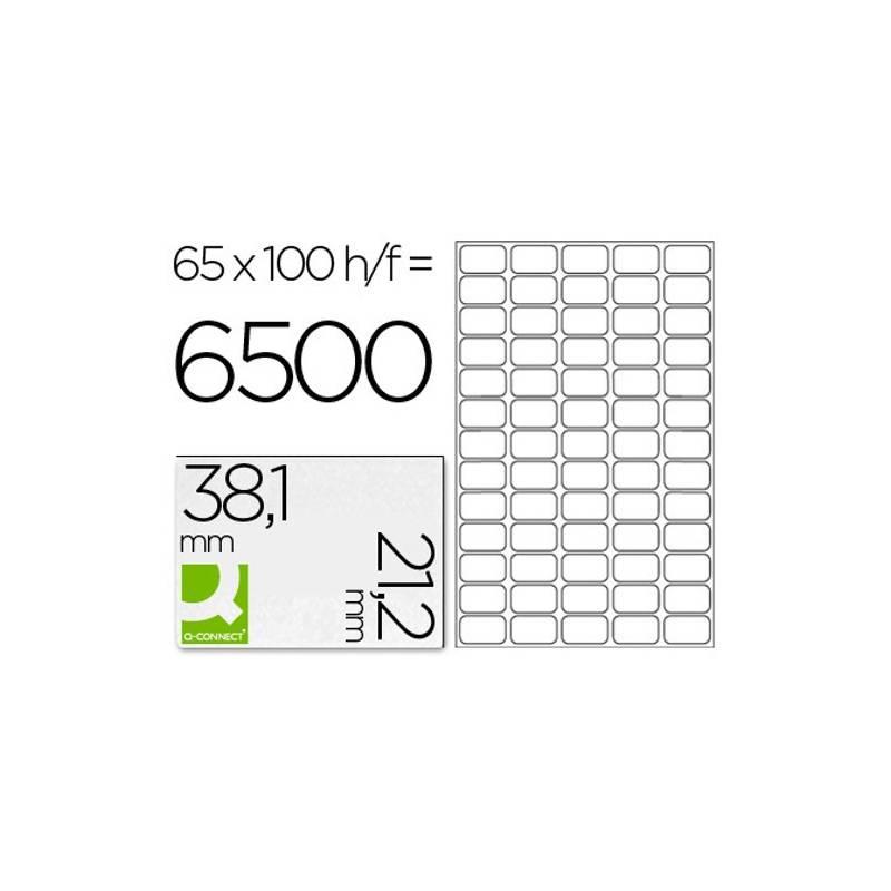 Etiquetas adesivas 38,1x21,2mm