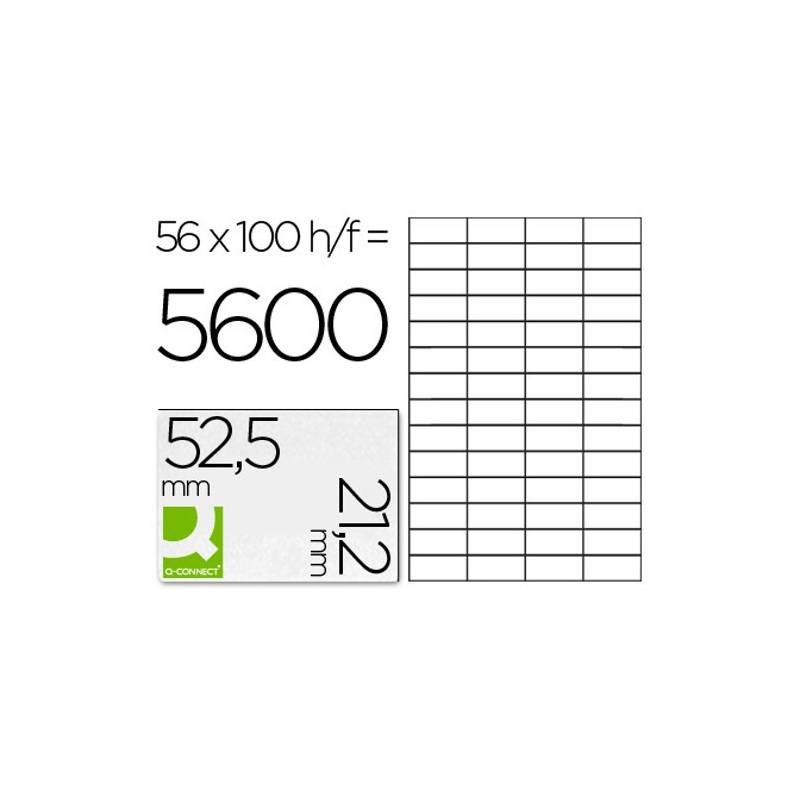 Etiquetas adesivas 52,5x21,2mm