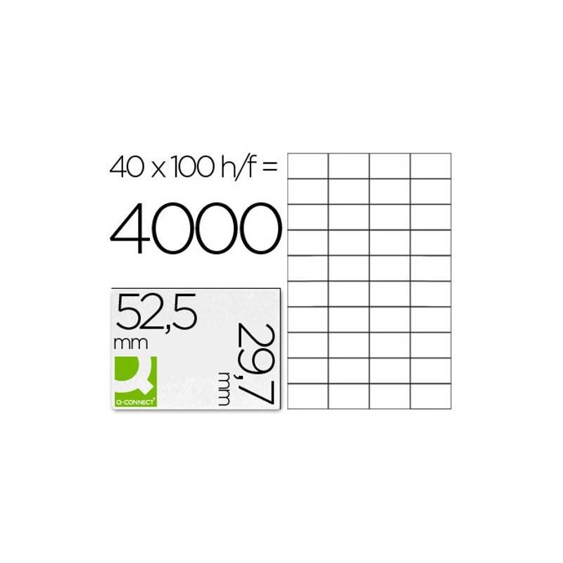 Etiquetas adesivas 52,5x29,7mm
