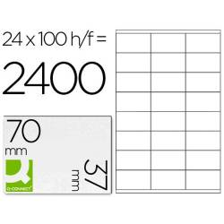 Etiquetas adesivas 70x37mm