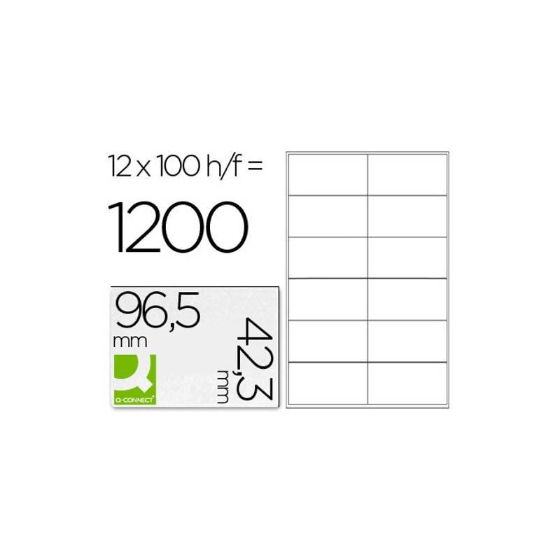 Etiquetas adesivas 96,5x42,3mm