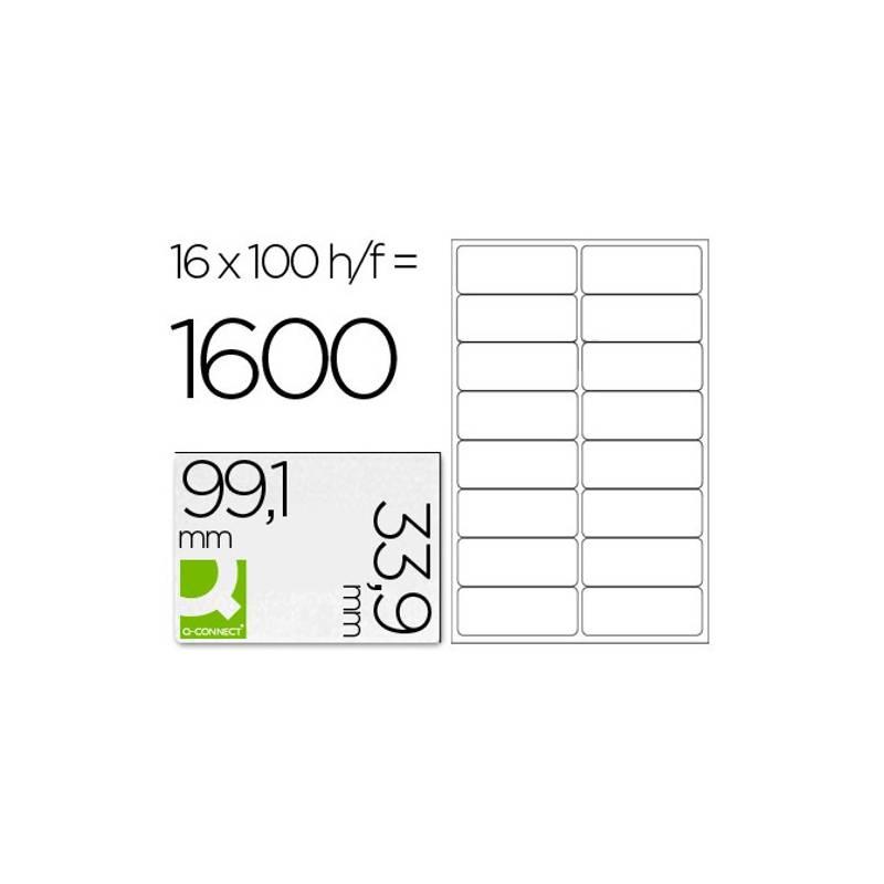 Etiquetas adesivas 99,1x33,9mm