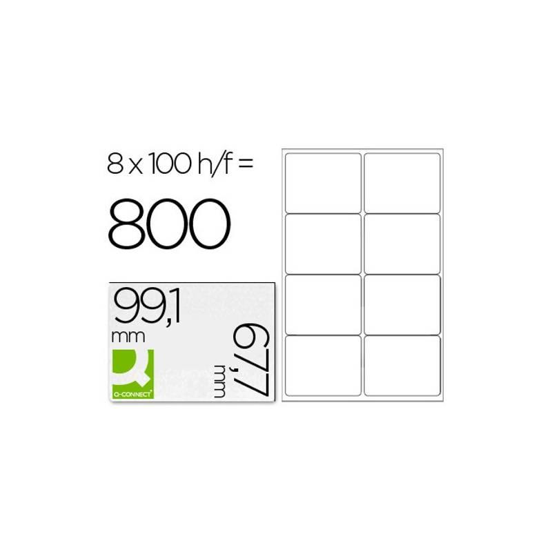 Etiquetas adesivas 99,1x67,7mm