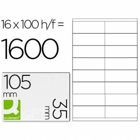 Etiquetas adesivas 105x35mm