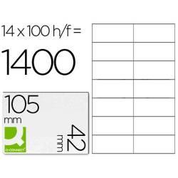 Etiquetas autocolantes105x42mm
