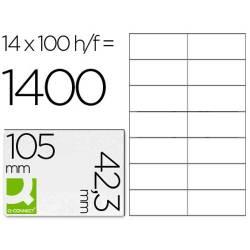 Etiquetas adesivas 105x42,3mm