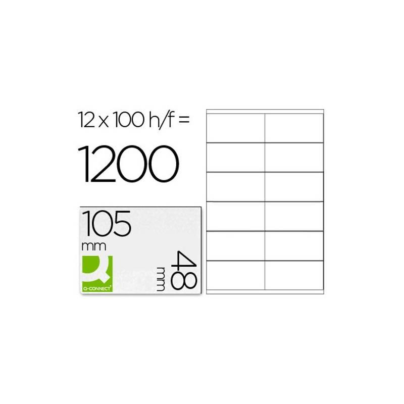 Etiquetas adesivas 105x48mm