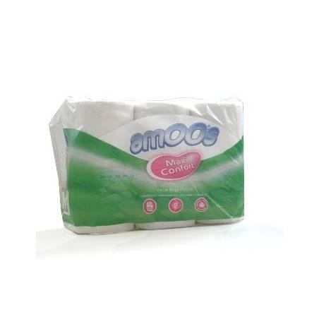 Papel higiénico  doméstico de folha dupla