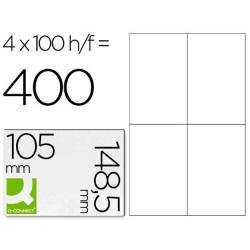 Etiquetas adesivas 105x148,5mm