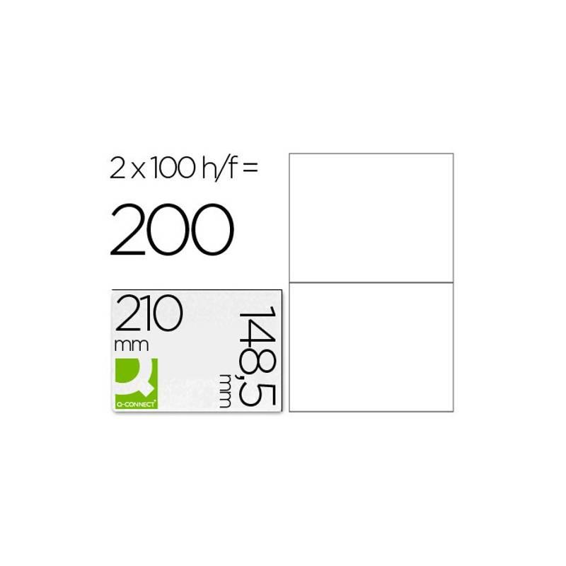 Etiquetas adesivas 210x148,5mm (formato A5)
