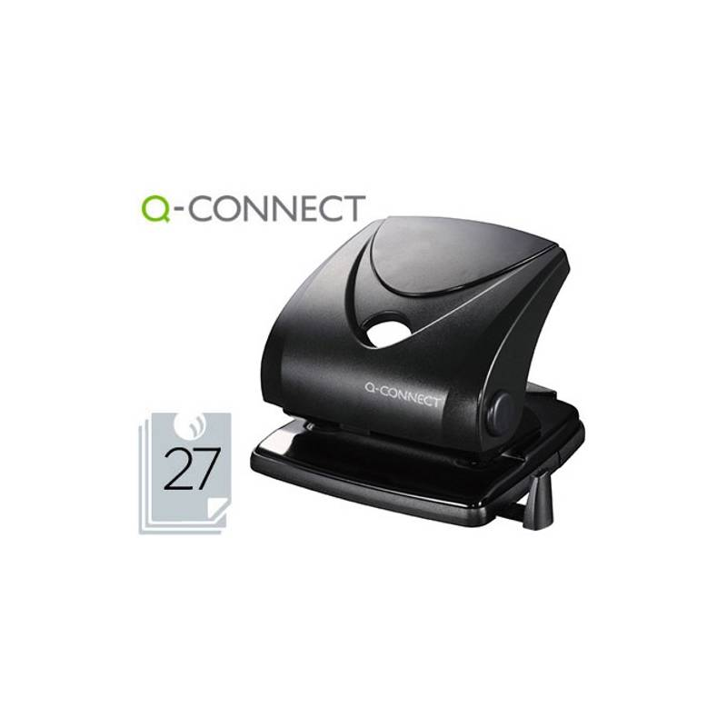 Furadores de papel Q-Connect para 27 folhas