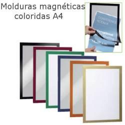 Molduras magnéticas porta anuncios A4 Q-connect