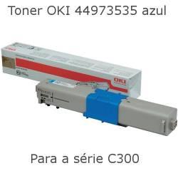 Toner OKI 44973535 azul...
