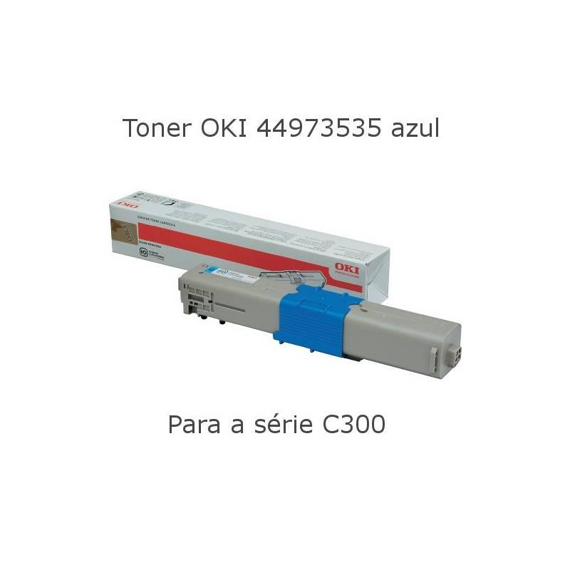 Toner OKI 44973535 azul para  C301 e C321