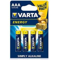 Pilhas AAA alcalinas 1,5V-1100mAh