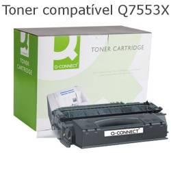Toner compativel com HP Q7553X preto